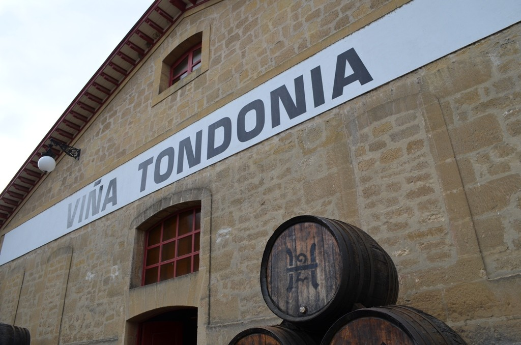 In a courtyard along the Ebro River in Haro, one can visit many of the old Rioja stalwarts like Lopez de Heredia.